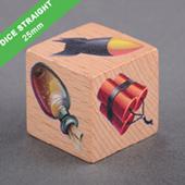 Custom Wooden Dice 25mm
