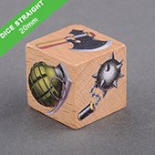 Custom Wooden Dice 20mm
