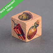 Custom Wooden Dice 16mm