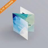 Z-fold booklet for 2.75