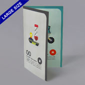 Bi-fold booklet for Large size 3.5
