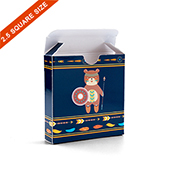 Custom Tuck Box for 2.5 Inch Square Cards