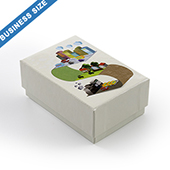Custom Rigid Box for 60 Business size cards