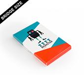Custom Sleeve Box For 18 Bridge Size Cards