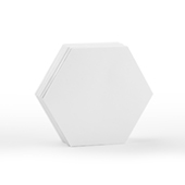 48 Blank Hex Cards 2.6