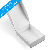 Plain easy flip game box_ with finger hole
