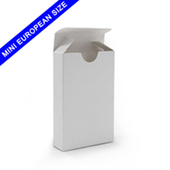 White Tuck Box For Mini European Sized Playing Cards
