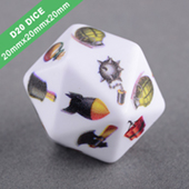 D20 Polyhedral Dice