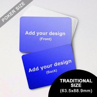Custom Blank Game Cards Landscape (63.5 X 88.9mm)