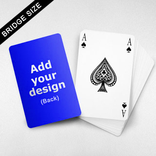 Bridge Index Playing Card