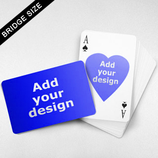 Bridge Size Playing Cards – Heart Back