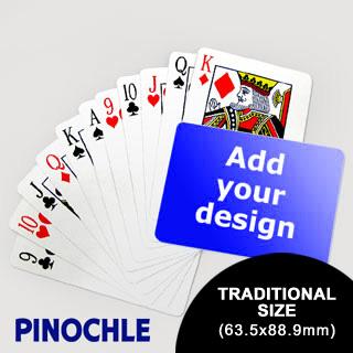 Pinochle Fun Classic Choice (Landscape) (63.5 x 88.9mm)