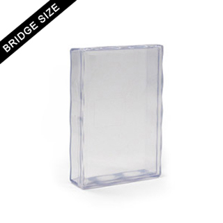 Plastic case for 54 bridge size card deck