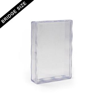 Plastic case for 54 bridge size card deck