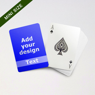 Mini Card Series – Custom Front with Transparent Text