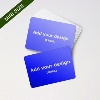 Mini Card Series Custom Cards (landscape)