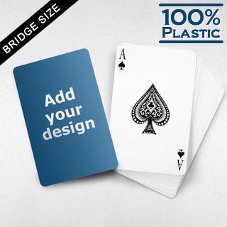 Custom Plastic Bridge Cards