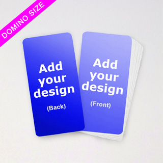 Custom Domino Deck Game Cards