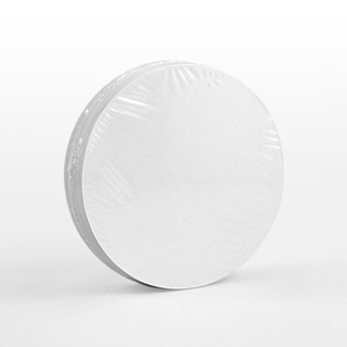 54 Blank Circular Cards