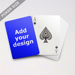 Classic Choice Custom Poker Back