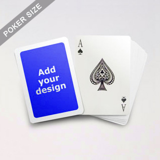 5mm White Border Poker Cards