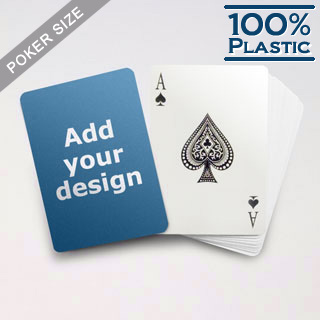 Custom Plastic Poker Cards