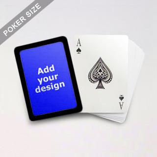 Black Border Poker Cards