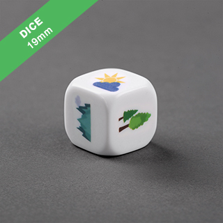 Custom Dice Round Corners 19mm