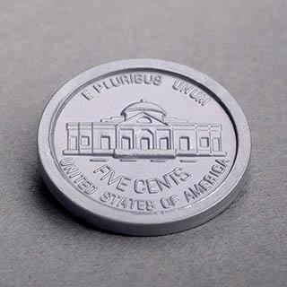School Money Five Cents