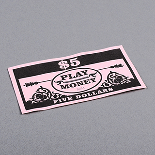 Paper Money Five Dollars