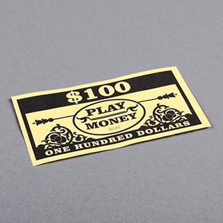 Paper money _One Hundred Dollars