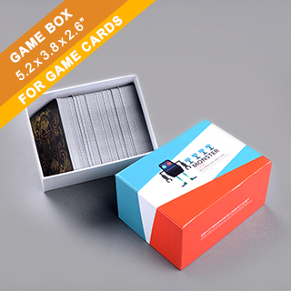 Custom Card Game Box 300 Cards