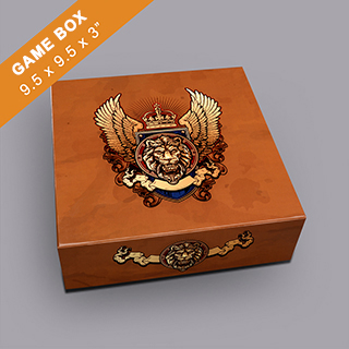 Custom Medium Square Game Box 3
