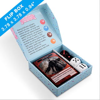 Easy Flip Game Box 96 x 96 x 24mm