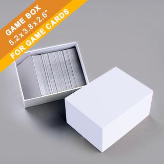 Plain Game Card Box 300 cards