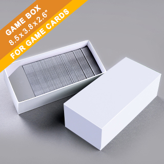 Plain Game Card Box 500 cards