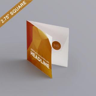 Bi-fold booklet for 2.75