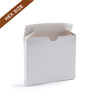 Plain Tuck Box For Hex Size Playing Cards