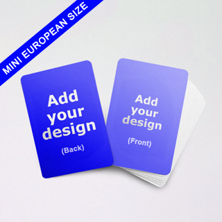 Mini European size cards