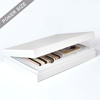 White Double Deck Display Box