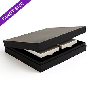 Black Double Deck Display Box Tarot Size