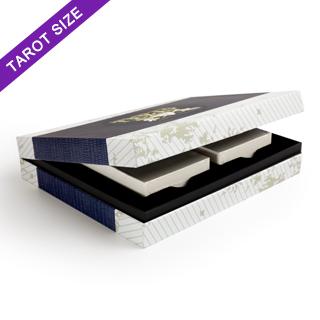 Custom Double Tarot Deck Case (Black Tray)