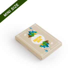 Custom Sleeve Box For 18 Mini Playing Cards