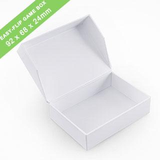 Plain Easy-Flip Game Box 68x92x24mm_landscape_with finger hole
