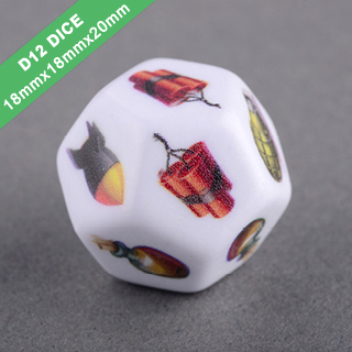 D12 Polyhedral Dice