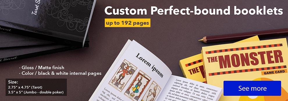 custom game booklet