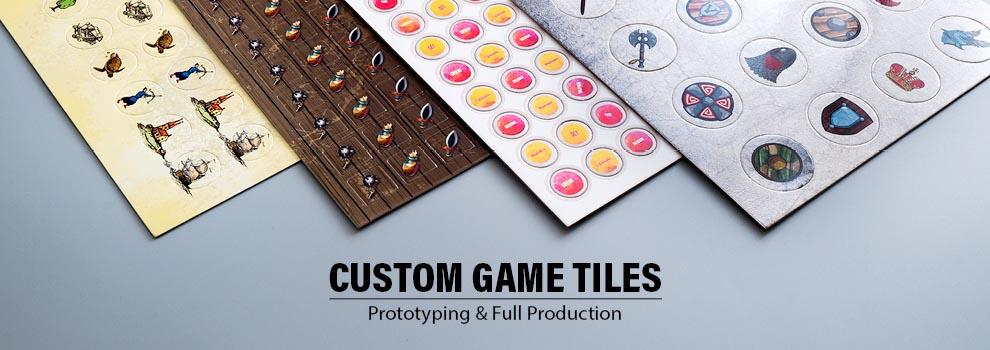 Custom game tiles